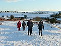 Walkers on Little Mountain - geograph.org.uk - 1657094.jpg