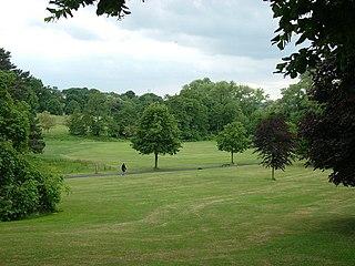 Holywells Park, Ipswich park in Ipswich, Suffolk, England