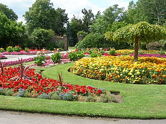 Sudbury, London - Image: Walled Garden, Barham Park geograph.org.uk 216342