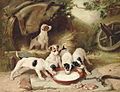 Walter Hunt Puppies' breakfast 1885.jpg