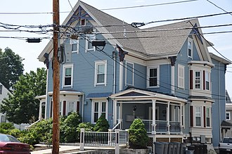 National Register of Historic Places listings in Waltham, Massachusetts - Image: Waltham MA Charles Baker House