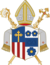 Coat of arms of the Diocese of Linz.png