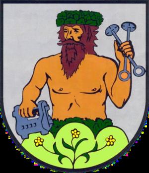 Großbreitenbach - Image: Wappen Grossbreitenbach