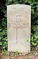 Warren (J.) CWGC gravestone, Flaybrick Memorial Gardens.jpg