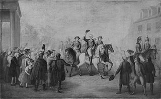 Washington's Triumphal Entry into New York