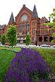 Washington Park and Cincinnati Music Hall (11782887063).jpg