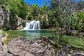 Waterfall Trail on Fossil Creek (30064924186).jpg