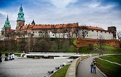 Wawel Royal Castle Krakow Poland by blaat.jpg
