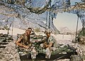 Weapons Platoon, B Company, 1st Battalion, 3rd Marines at Abu Hadriya, Saudi Arabia in Gulf War, November 1990.jpg