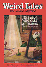 Weird Tales cover image for February 1927