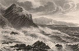 Welsh coast near Aberystwith