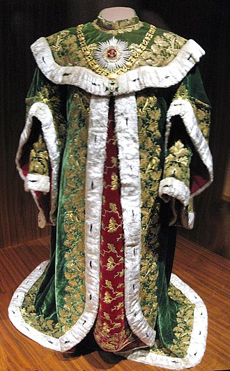 Order of Saint Stephen of Hungary - Cape and gown of a knight of the order