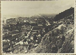 Vista de Santos