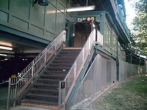 West Eighth Street–New York Aquarium (New York City Subway) - Image: West 8th Street Entrance