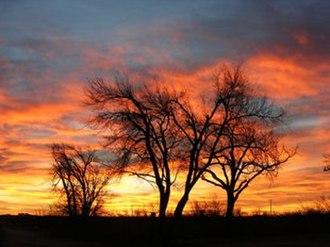 Fritch, Texas - Image: West Texas Sunrise