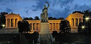 Leo von Klenze - Ruhmeshalle in Munich