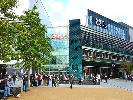 Westfield Stratford City opened in September 2011 Westfield stratford city.jpg