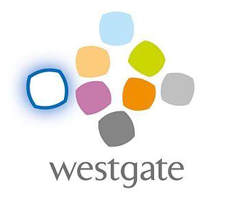 Westgate, Singapore - The logo of Westgate Singapore