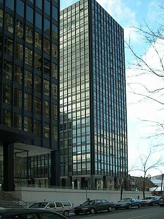 Westmount, Quebec - Mies van der Rohe's Westmount Square.