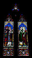 Wexford Church of the Immaculate Conception North Aisle Window Saints Richard, Matthew, Elizabeth, and Catherine 2010 09 29.jpg