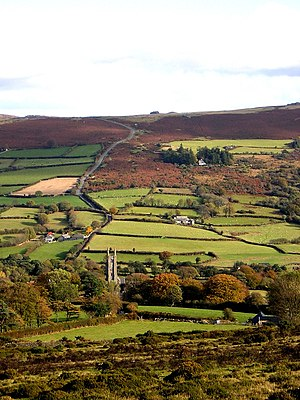 Widecombe-in-the-Moor - Widecombe Valley