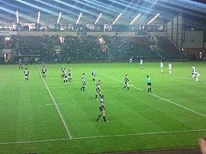 Select Security Stadium - Image: Widnes Vikings vs St Helens Karalius Cup 2010 001
