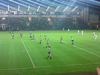 Select Security Stadium - Image: Widnes Vikings vs St Helens Karalius Cup 2010 001