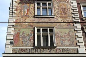 Mikoláš Aleš - Wiehl-House (1896), Prague, Wenceslas Square No. 34