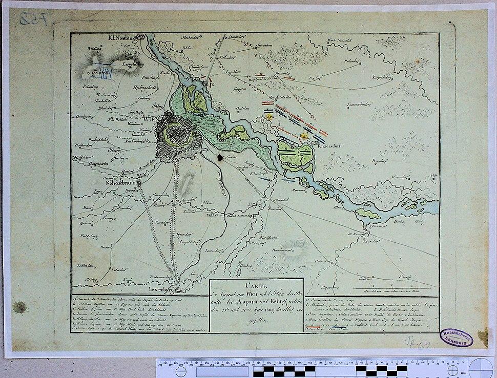Wien und Truppenaufstellung 1809 9112