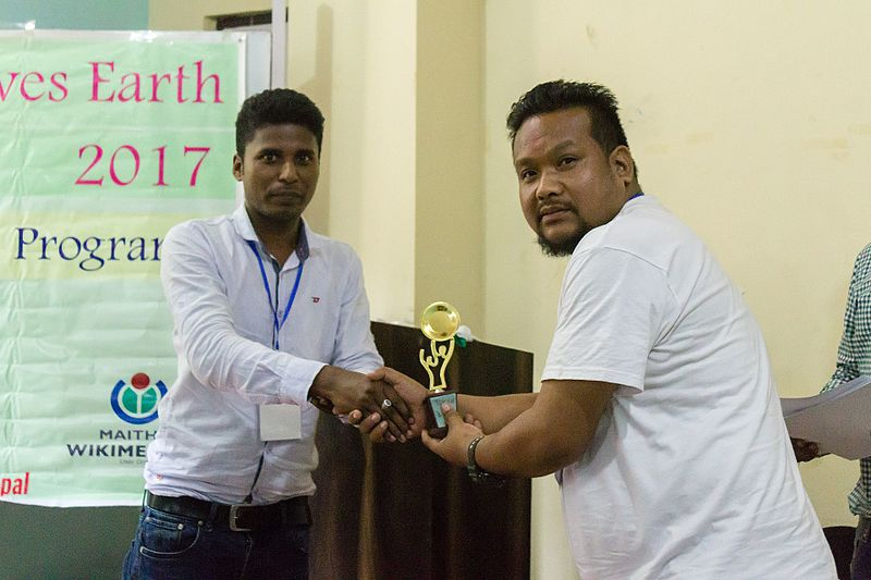फाइल:Wiki Loves Earth 2017 in Nepal Outreach Program in Ilam Nepal 07.jpg