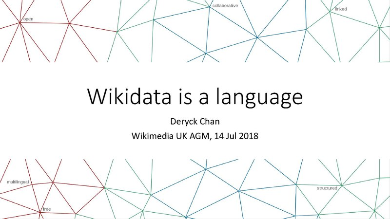 File:Wikidata is a language.pdf