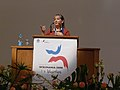 Wikimania 2008 - Closing Ceremony - Florence Devouard - 8.jpg
