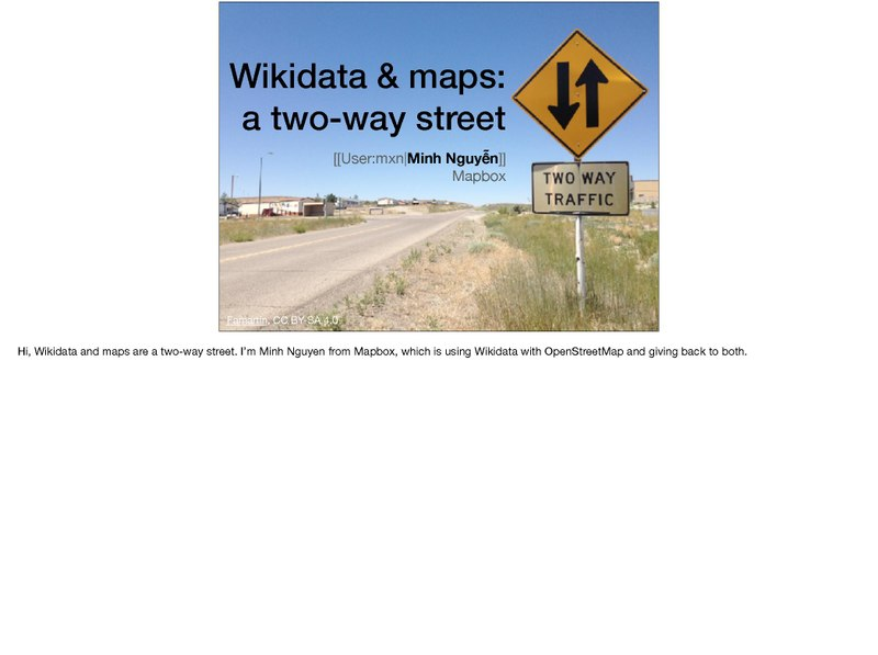 File:Wikimania 2017 - Maps and Wikidata, a two-way street (with notes).pdf