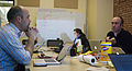 Wikimedia Foundation SOPA War Room Meeting 1-17-2012-1-3.jpg