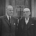 Willem Visser t Hooft en Anton Roosjen (1964).jpg