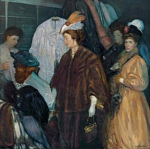 Edith Dimock - Image: William Glackens, The Shoppers
