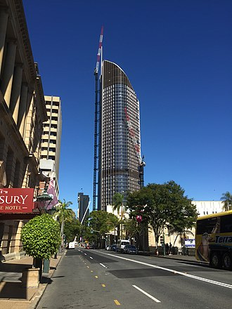 Government of Queensland - 1 William Street was completed in 2016