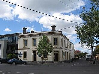 Smith & Johnson - Image: Williamstown Steampacket Inn