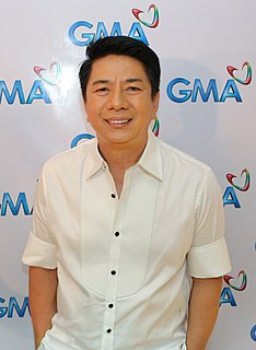 Willie Revillame Filipino television host, singer, songwriter, businessman, actor and comedian