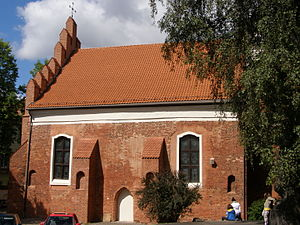 Vilnius - St. Nicholas Church (built before 1387) is the oldest church in Vilnius