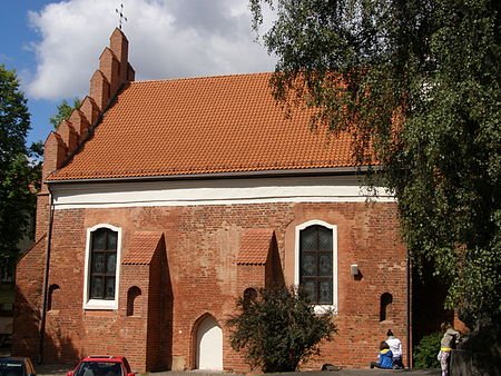 St. Nicholas in Vilnius, the oldest church in Lithuania Wilno - kosciol sw. Mikolaja 2.JPG