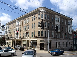 National Register of Historic Places listings in Clark County, Kentucky - Image: Winchester, KY Brown Proctoria Hotel