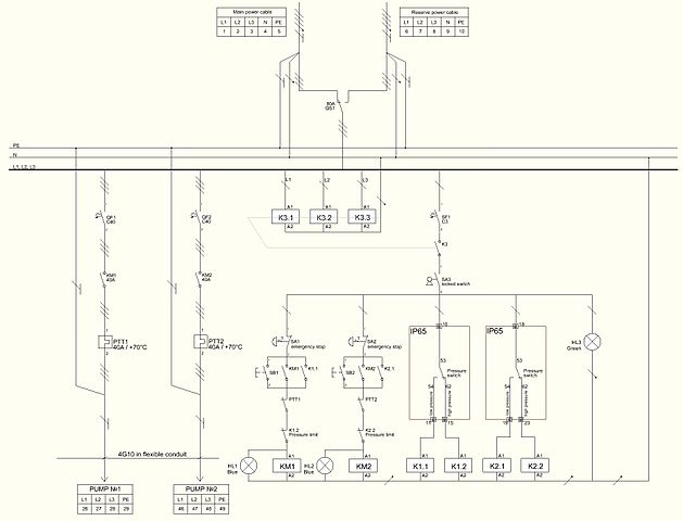 file:wiring diagram of motor control centre on pump station.jpg - wikimedia commons 3 wire well pump wiring diagram free download #4