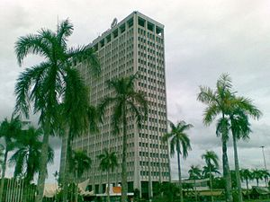 Wisma Bapa Malaysia - Side view of the building