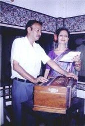 Beauty Sharma Barua - With Dwijendra Mohan Sharma, 1989