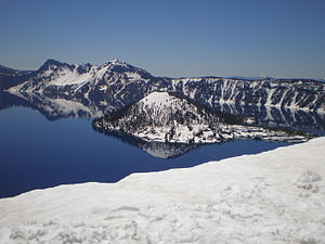 Wizard Island, Crater Lake, Crater Lake Nation...
