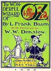 couverture du roman le magicien d'Oz