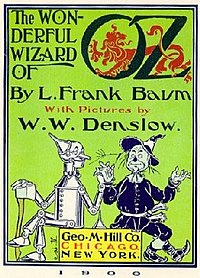 Första utgåvan av The Wonderful Wizard of Oz