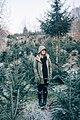 Woman among spruce trees (Unsplash).jpg
