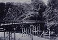 Wooden bridge of Tokaido at Tamura River.jpg